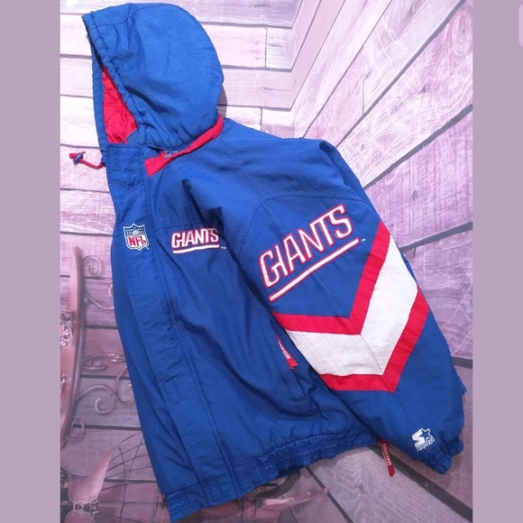 Vtg90 s Starter ProLine NFL NewYork Giants Jacket.  M 5b733643bf7729b4597fdd3a 34232beb8